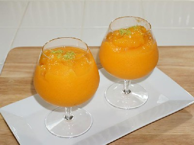 ORANGE FLAVORED ICE WATER SYRUP